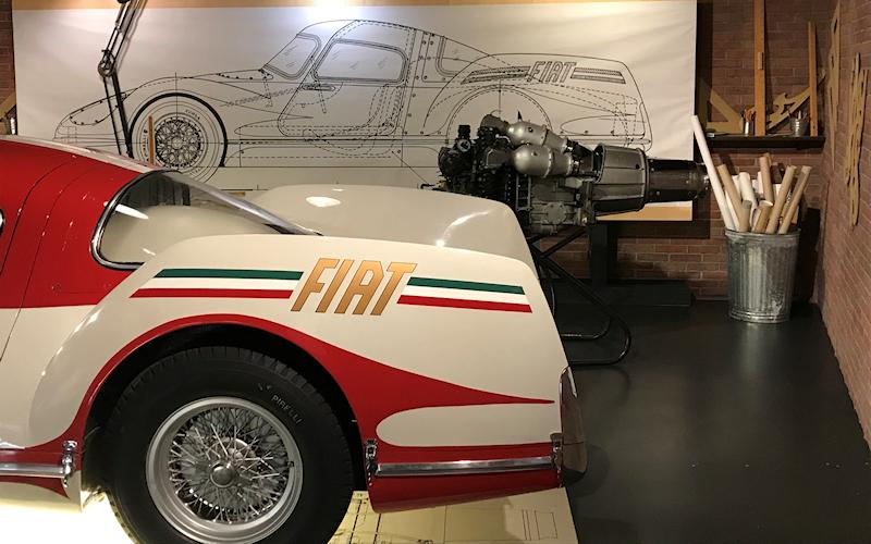 Archivio Prototipi Fiat Turbina